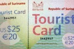 suriname toeristenkaart schiphol