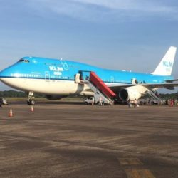klm ticket suriname