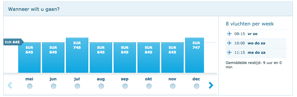 klm deals suriname 2016 645 euro