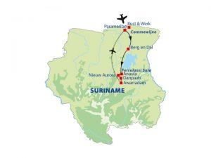 Rondreis Suriname- Kleurrijk Suriname