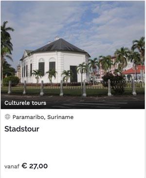 boek tickets voor bezienswaardigheden in Suriname