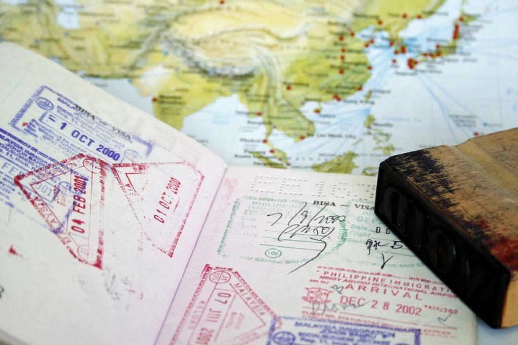 Suriname toeristenkaart